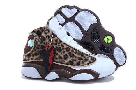 Leopard Brown & White - Coffee Kids Basketball Shoes Jordan 13 Release | new and popular list | Scoop.it