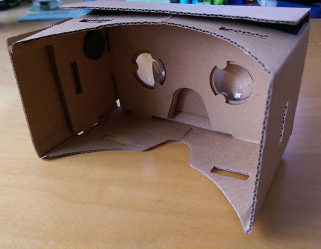Ideas for Using Google Cardboard Virtual Reality in the Classroom | The DigiTeacher | Scoop.it