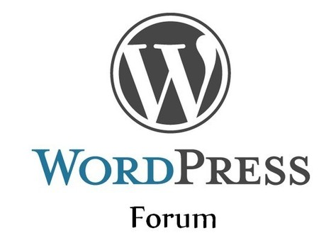 Faire de Wordpress… un Forum [3] | Time to Learn | Scoop.it