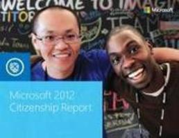 Microsoft's Corporate Citizenship report 2012 -...