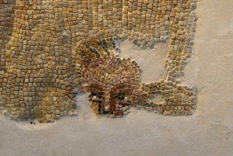 El mosaico de Varea luce de nuevo | LVDVS CHIRONIS 3.0 | Scoop.it