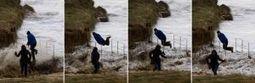 La ciclogénesis «Nadja» castiga sin piedad buena parte el litoral gallego | English Information | Scoop.it