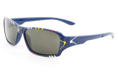 Blue Multicolor CH1 Full Rim Oval Glasse | anninobi | Scoop.it