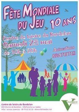 Fête mondiale du jeu 2016 au centre de loisirs du Bordelan à Villefranche   HiddenTavern   Scoop.it