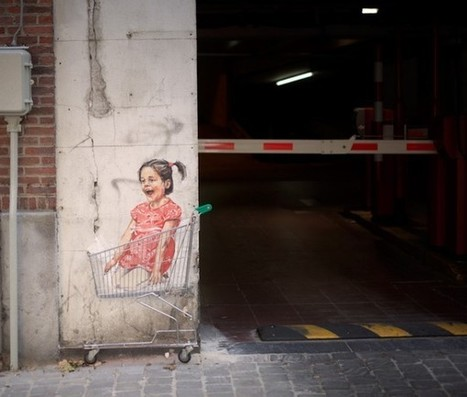 Street art pour Toyota – Paperplane | Inspiring Art Management | Scoop.it