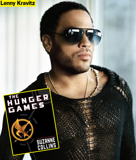 Lenny Kravitz 'Really Excited' To Play Cinna In 'The Hunger Games'! - Hollywood Life | The Hunger Games | Scoop.it