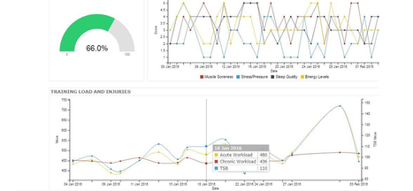 Training Load Athlete Data Management and Analytics | lIASIng | Scoop.it