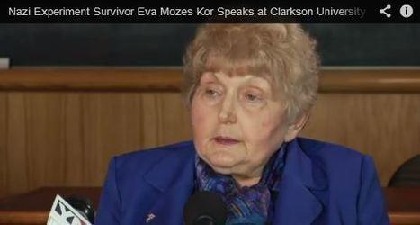 Nazi Experiment Survivor Eva Mozes Kor Speaks at Clarkson University (YouTube Video Showing An Extraordinary Act Of Forgiveness) | Community Village Daily | Scoop.it