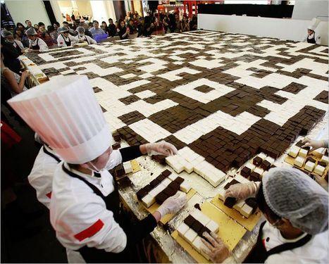 World Record QR Code Cake   QRdressCode   Scoop.it