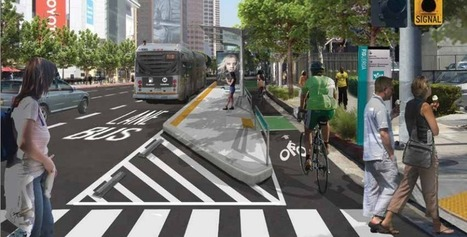 MyFigueroa! Plan for LA's First Protected Bike Lanes Clears Environmental Review - Streetsblog Los Angeles (blog) | Bicycle Safety and Accident Claims in CA | Scoop.it