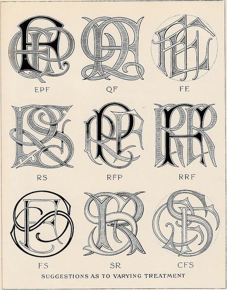 BibliOdyssey: Monograms & Ciphers | Graphic Design and Typography | Scoop.it