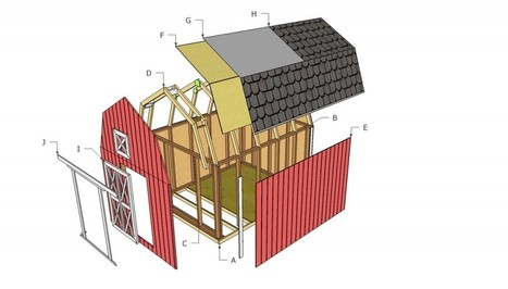 Barn Shed Plans   HowToSpecialist - How to Build, Step by Step DIY Plans   Shed   Scoop.it