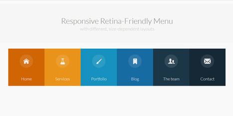 20 tutoriels pour créer un menu original avec HTML 5 et CSS 3 - ressources | Web mobile - UI Design - Html5-CSS3 | Scoop.it