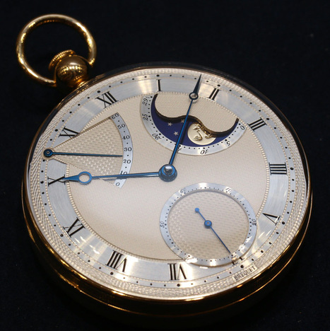 Breguet Pocket Watch Hands-On: Antique 2567, No. 5 Replica, And ... | antiques information | Scoop.it