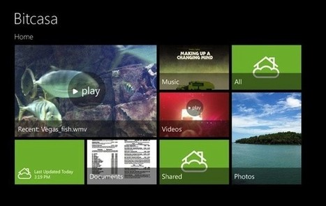 Bitcasa brings limitless cloud storage to Android and Windows 8 today, iOS in January | Hightech News | Scoop.it