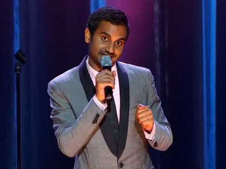 Comedian Aziz Ansari is Getting $3.5 Million to Write About How Single People Use Tech To Date | Scott's Linkorama | Scoop.it