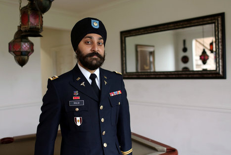 Taking On Rules So Other Sikhs Join the Army - New York Times | militarisation | Scoop.it