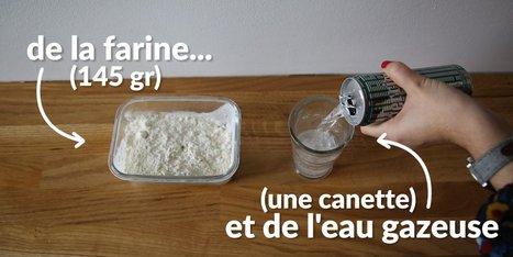 Une recette de pâte à crêpes avec seulement deux ingrédients | français langue étrangère | Scoop.it