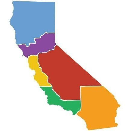 There's a plan to split California into 6 states. Here's what it might look like. | Introduction to World Geography | Scoop.it