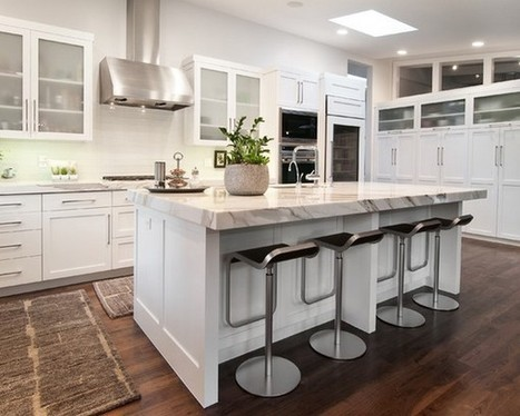 Amazing White Kitchen Cabinets with Granite Countertops Ideas | Home Designs an Decorating Ideas | Scoop.it