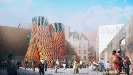 Towering organic sculpture to be exhibited in New York - Gizmag   Biomimetics   Scoop.it