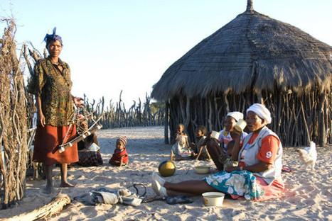 Bushmen du Kalahari : Au Botswana, les Bushmen ne sont pas du voyage | TOURISME Responsable et Durable | Scoop.it