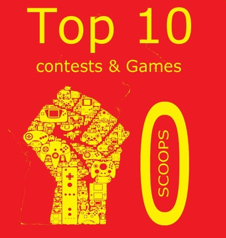 Top 10 Contests & Games Revolution Scoops All Time | Contests and Games Revolution | Scoop.it