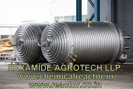 Limpet Coil Reactor Manufacturer in India | Limpet Coils | Limpet Reactor - HEXAMIDE AGROTECH LLP | SS 316 ,304 CHEMICAL REACTOR MFG INDIA | Scoop.it