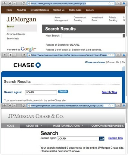 JP Morgan Chase owns up to data breach: 465,000 customers at risk » Cyber Crimes Unit | Cyber Crimes Unit | it security | Scoop.it