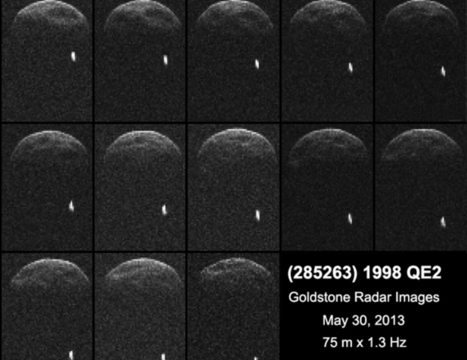 NASA - NASA Radar Reveals Asteroid Has Its Own Moon | STEM Love | Scoop.it