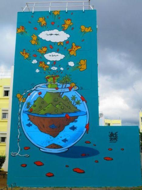 La Réunion, destination street art | Street Art Reunion Island | Scoop.it