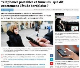 Ondes des portables: emballement médiatique | DocPresseESJ | Scoop.it