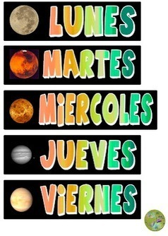 Spanish Days of the Week in a Song – Cada día de la semana » Spanish Playground   Preschool Spanish   Scoop.it