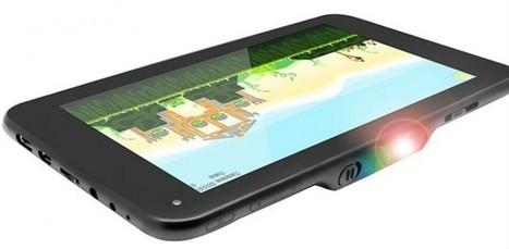 La première tablette tactile avec projecteur intégré équivalent écran 100 pouces | Geeks | Scoop.it
