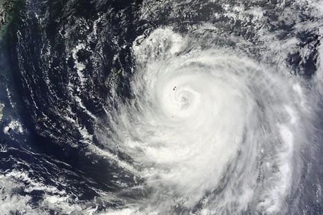 Le typhonHalongse rapproche des îles principales du Japon   Risques et Catastrophes naturelles dans le monde   Scoop.it