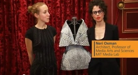 3D printed dress winds up on Paris Fashion Week runway - Geek | amazing and funny | Scoop.it