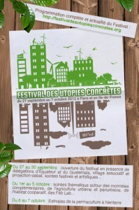 Festival des Utopies Concrètes : 10 jours autour des alternatives locales en France et dans le monde | Civic design | Scoop.it