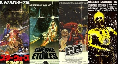 En images : les affiches les plus dingues de Star Wars | Star Wars, l'origine du Geek | Scoop.it