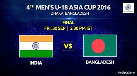 India vs Bangladesh U18 Asia cup Hockey Final Live streaming, Telecast, TV channels info | Current Event | Scoop.it