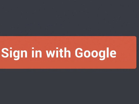 Google+ Sign-In : la réponse de Google au Facebook Connect | Gauthier D'HU | Scoop.it