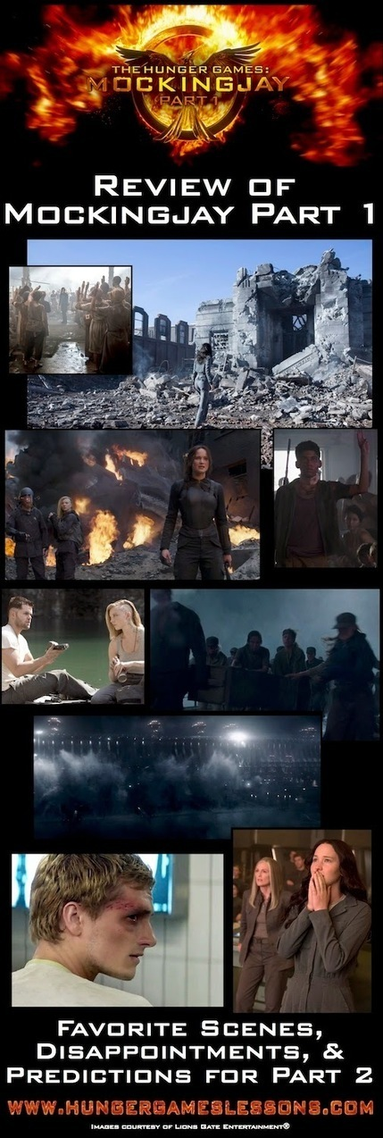 Hunger Games Lessons: Mockingjay Part 1 Movie Review & Predictions for Part 2 | Hunger Games Teaching Resources | Scoop.it