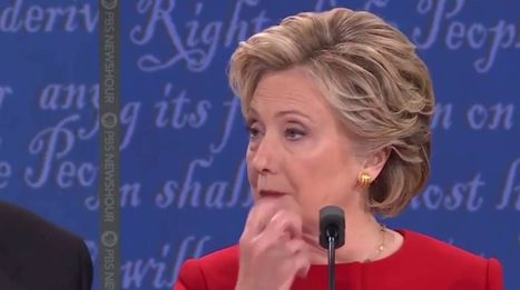 Viral video makes the case that Hillary Clinton used hand signals with Lester Holt during debate? | Global politics | Scoop.it