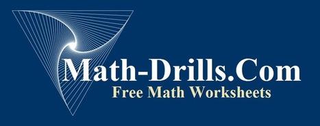 Free Printable Maths Worksheets   Adnoddau Mathemateg Uwchradd   Scoop.it
