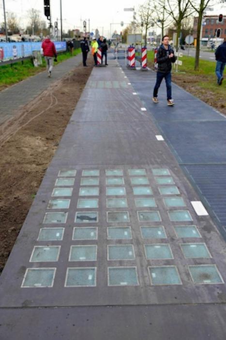 Aux Pays-Bas, les pistes cyclables solaires produisent plus d'électricité que prévu | LA VILLE DANS TOUS SES ÉTATS | Scoop.it