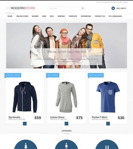 JM-Modern-Store ● Joomla-Monster ● Joomla Templates Shop | adamzweb | Scoop.it