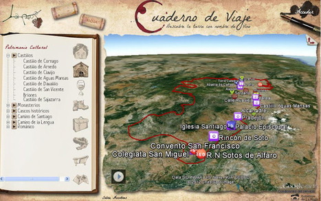 Geoinformación: Patrimonio Turístico de la Rioja en Google Earth | #GoogleEarth | Scoop.it