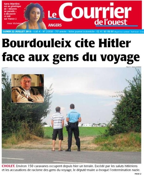 Selon le SNJ, le journaliste du Courrier de l'Ouest a bien rempli sa mission d'informer dans l'affaire Bourdouleix | DocPresseESJ | Scoop.it