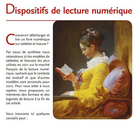 Dispositifs de lecture numérique : mode d'emploi | Fatioua Veille Documentaire | Scoop.it