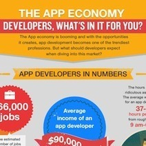 Infographic: Average app dev makes 90,000, puts in 40 hour weeks | software development | Scoop.it