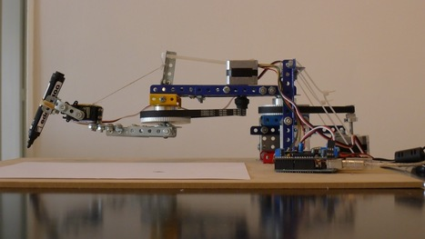 Drawing Arm with Arduino | Big and Open Data, FabLab, Internet of things | Scoop.it